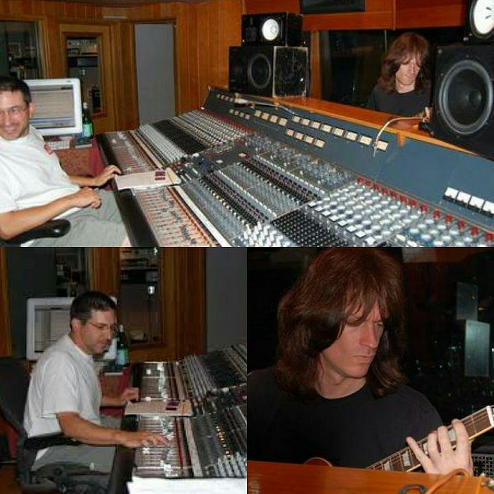 Engineer Greg Reely & Chris Impellitteri (Impellitteri - Wicked Maiden Session)