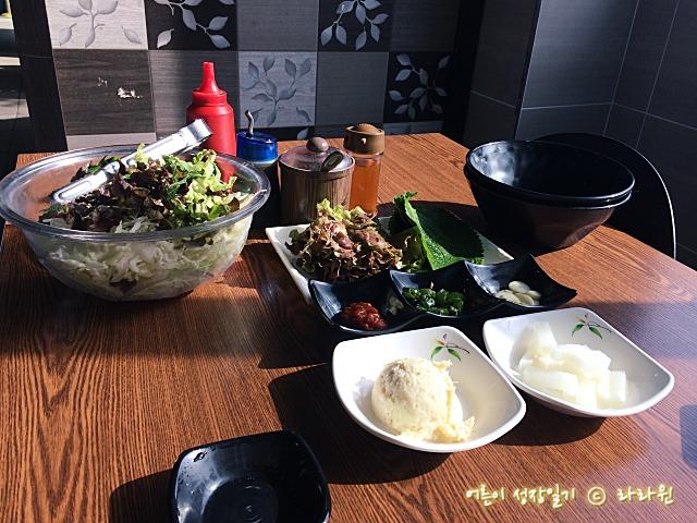 남양주 송어회 무한리필 맛집, 송암골평창송어