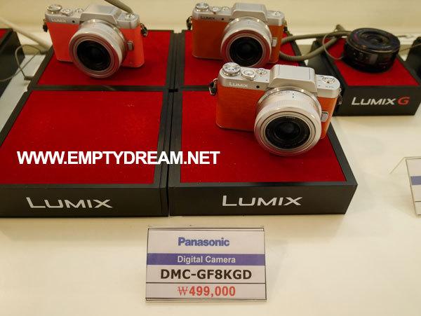 카메라 체험하기 - 파나소닉 프라자 DMC-GF8