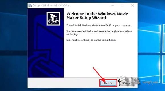 윈도우 무비메이커 설치 마법사
