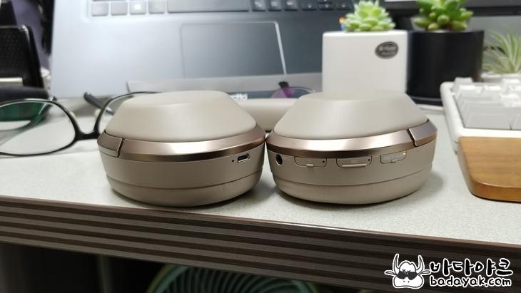 오버이어 노이즈 캔슬링 블루투스 헤드폰 소니 WH-1000X