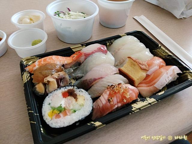 호평동 스시우찌 초밥 포장