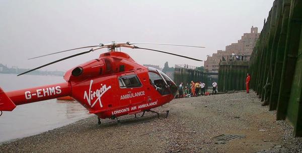 영국의 응급 의료 헬기