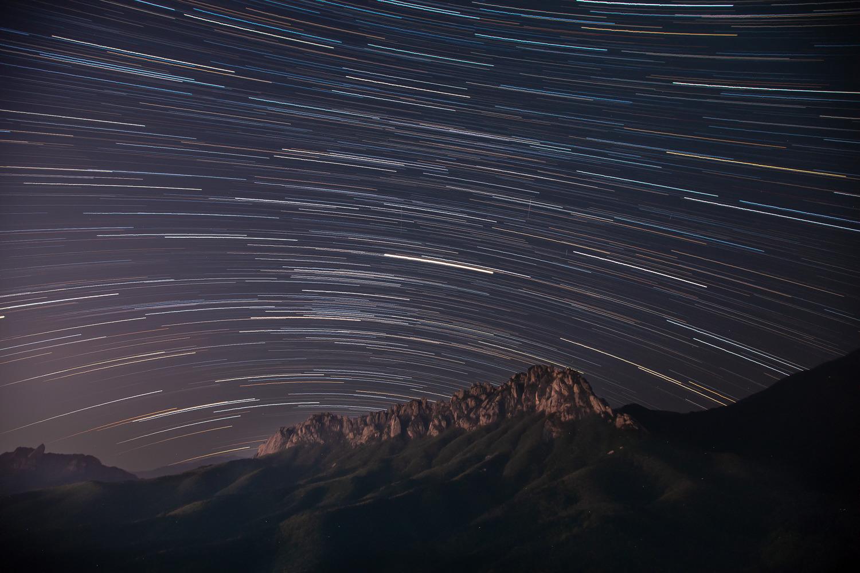 울산바위 북천일주와 은하수 ,