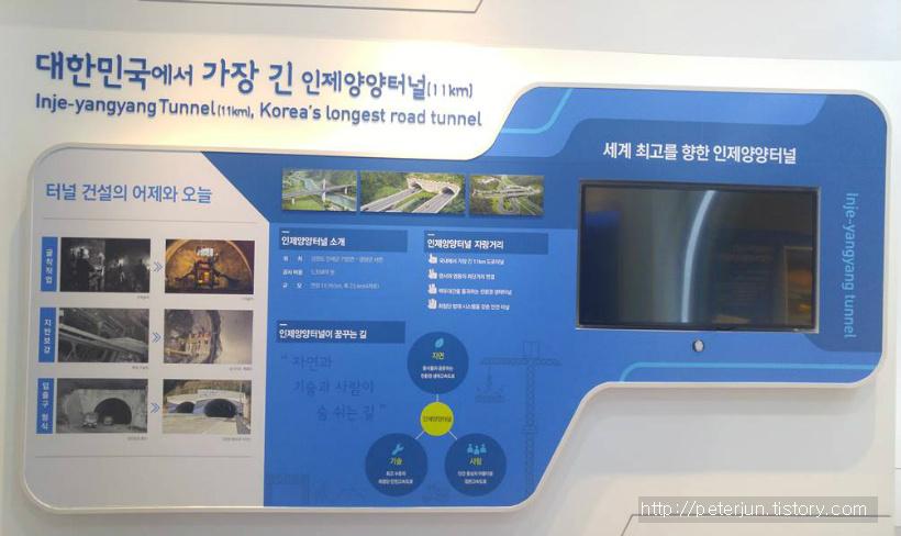 한국에서 가장 긴 터널