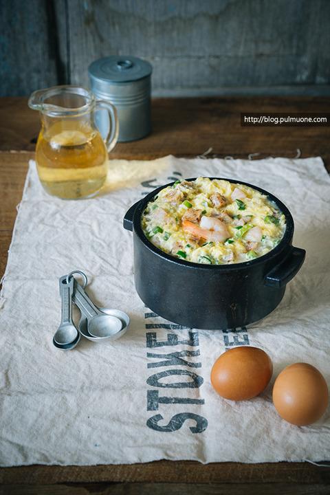 몽글몽글 부드러운 계란의 매력... '타코넣고 해물계란찜'