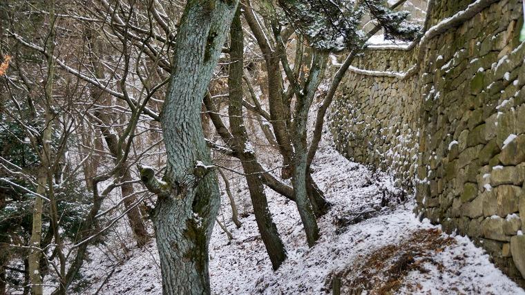 눈오는 금정산성