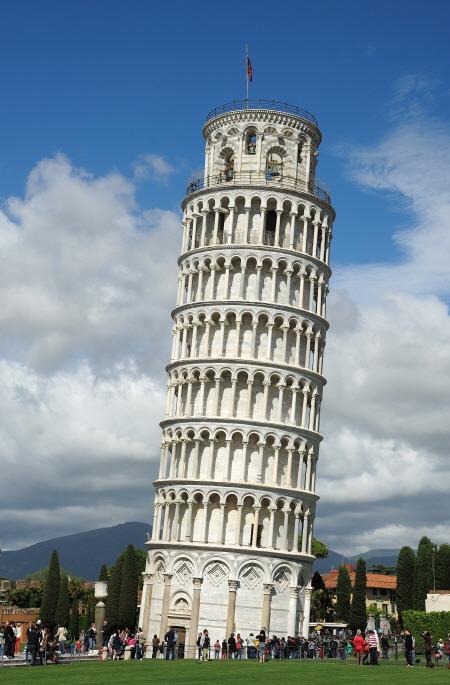 이탈리아 피사의 사탑(The Leaning Tower of Pisa)