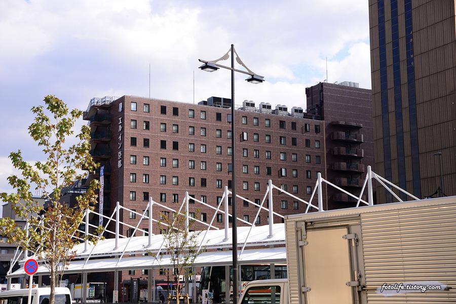 [일본/교토] 교토역 근처 갓 리모델링 완료된 <엘 인 교토 호텔(エルイン京都)>