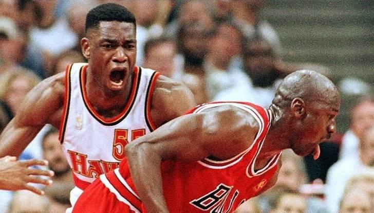 마이클 조던 약 올렸다가 관광만 하고 퇴근한 농구선수