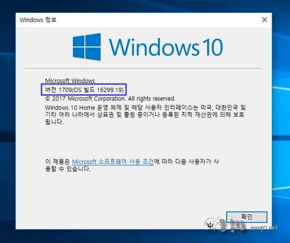 windows 정보