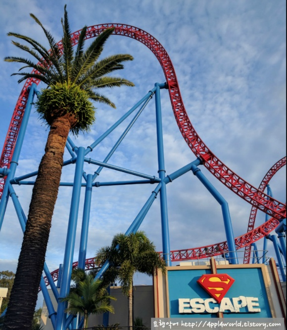 attraction 'superman escape'
