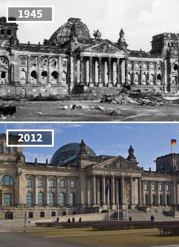 독일, 베를린, '국회의사당', 1945~2012