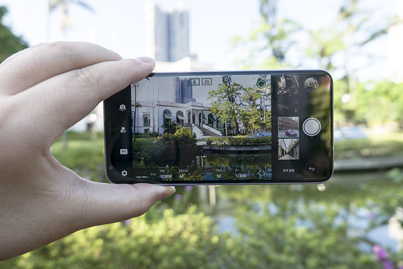 LG V30 카메라 후기. 광각 그리고 그래피