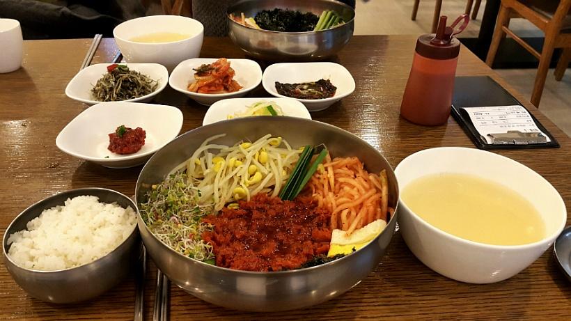 황태가 비빔밥